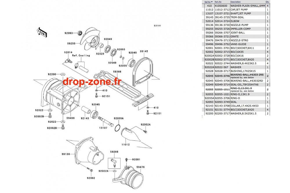 Turbine SX-R 800 03-11/ X2-R 800 07 › DROP ZONE UNLIMITED
