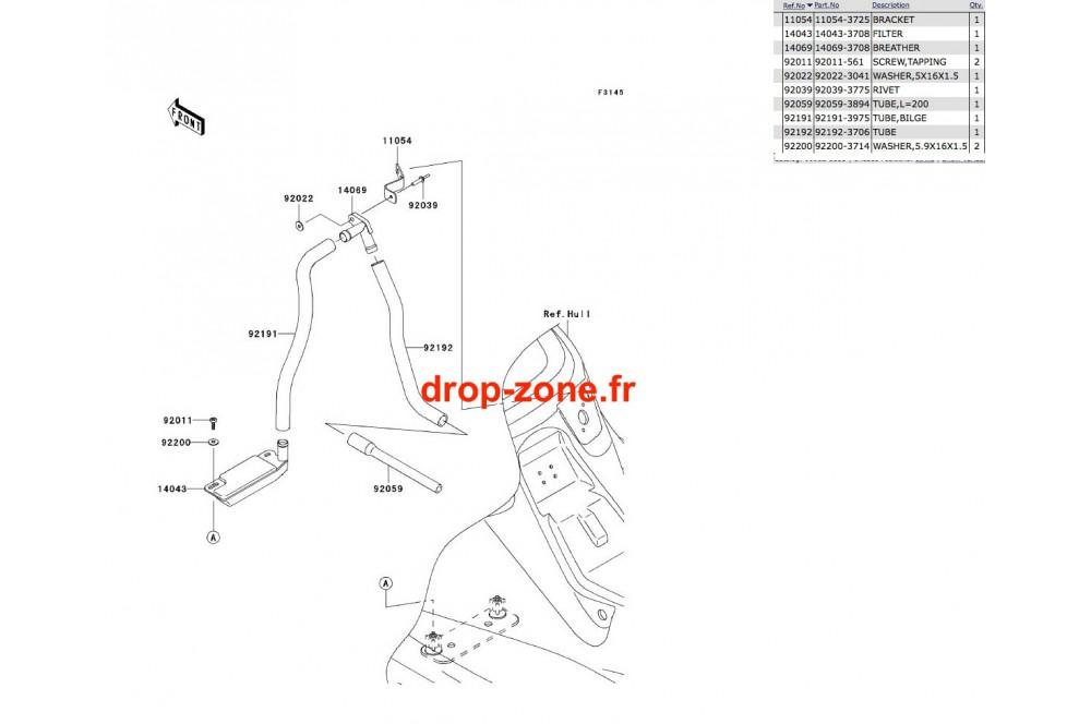 - Système de cale X2-R 800 07 › DROP ZONE UNLIMITED