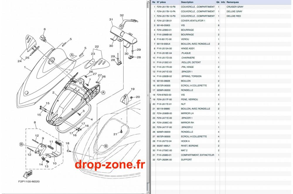 Capot VX Cruiser 13/ VX Deluxe 13 › DROP ZONE UNLIMITED