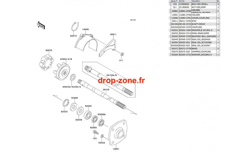 Transmission SXI 750 › DROP ZONE UNLIMITED
