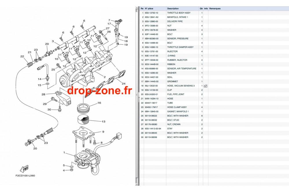 Admission FX SHO 11-12/ FX Cruiser SHO 11-12/ FZR-FZS 11