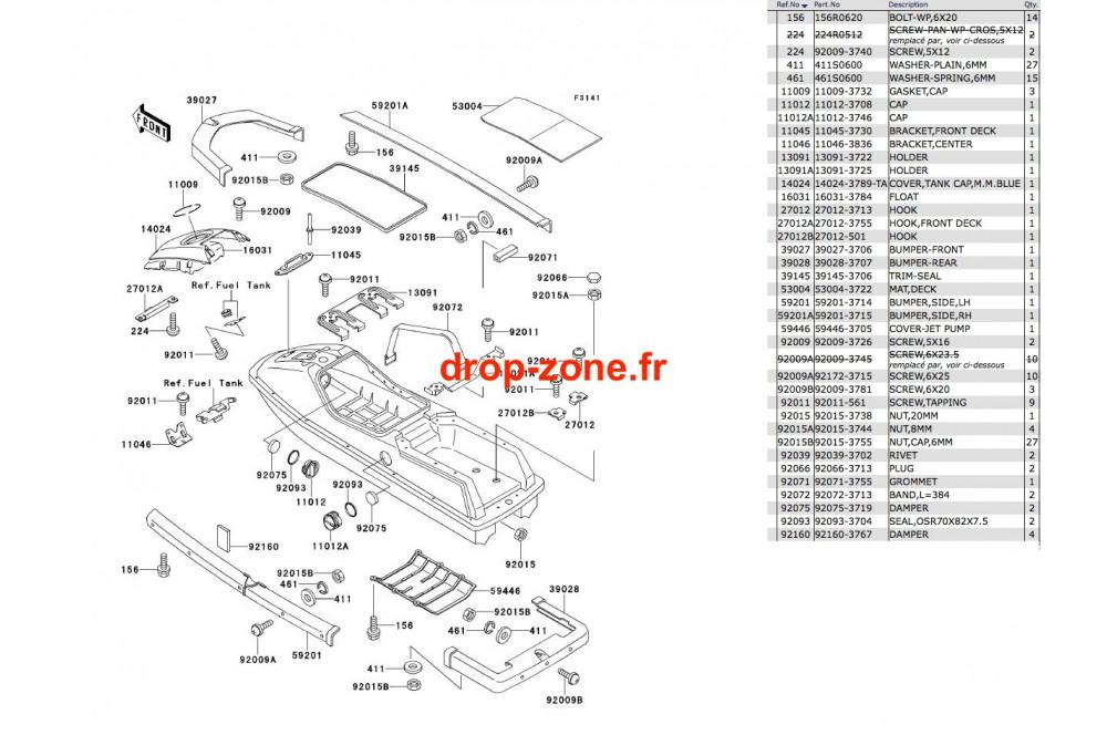 Coque SX 650 93 › DROP ZONE UNLIMITED