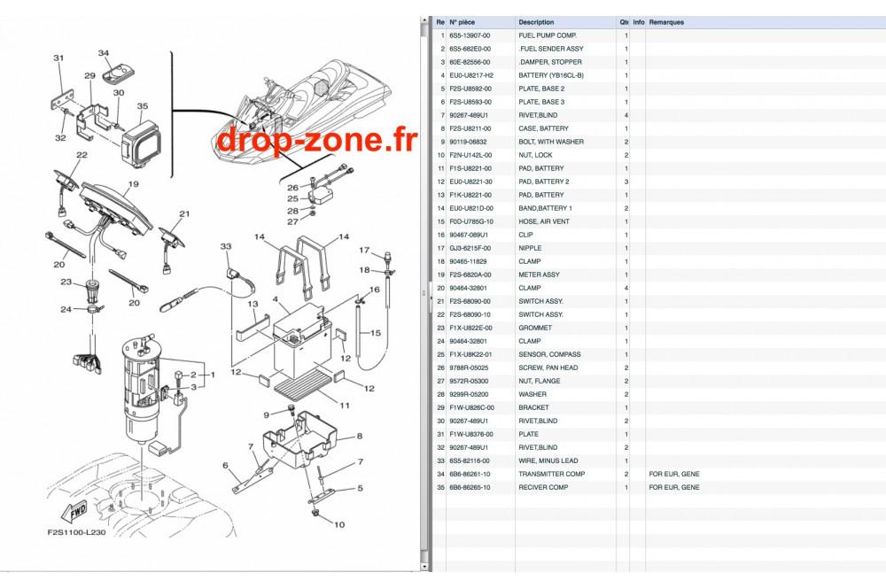 Electricité 3 FX SHO 12/ FX SHO Cruiser 12 › DROP ZONE