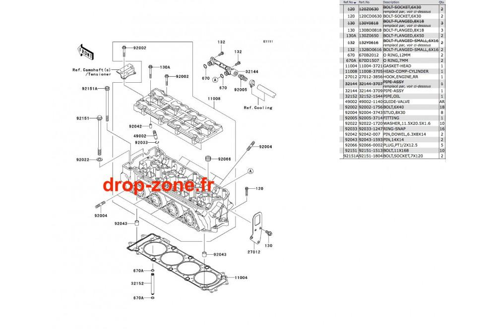 Culasse STX-12F › DROP ZONE UNLIMITED