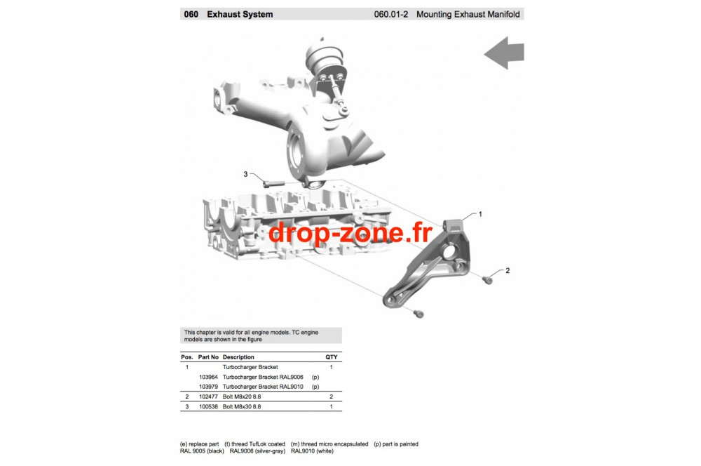 Turbocharger › DROP ZONE UNLIMITED