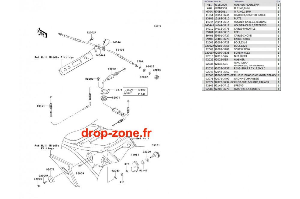 Câbles STX-R 1200 04 › DROP ZONE UNLIMITED
