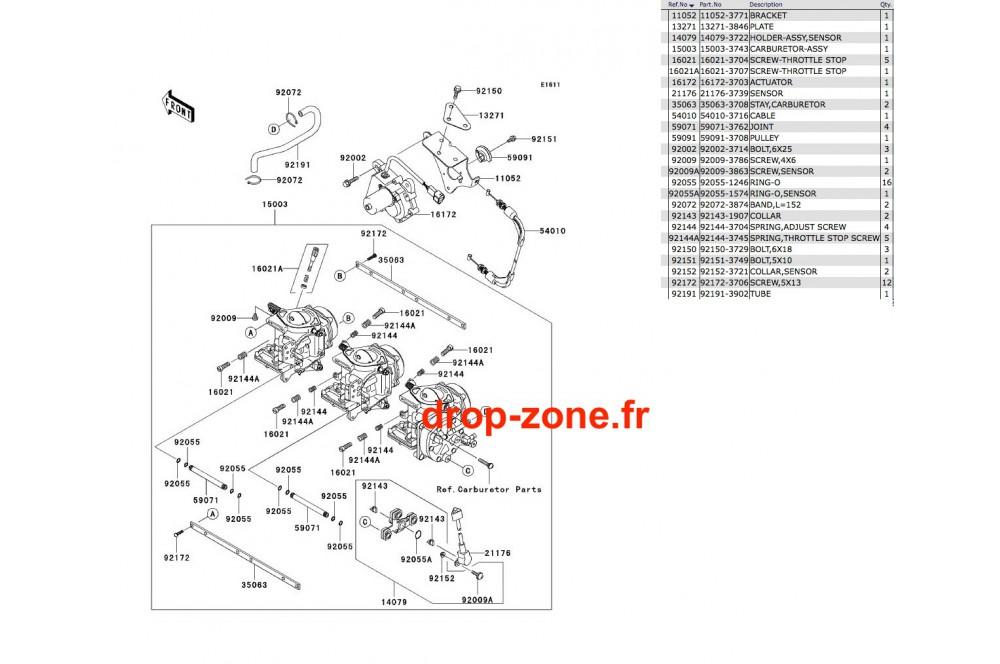 Carburateurs STX 900 06 › DROP ZONE UNLIMITED