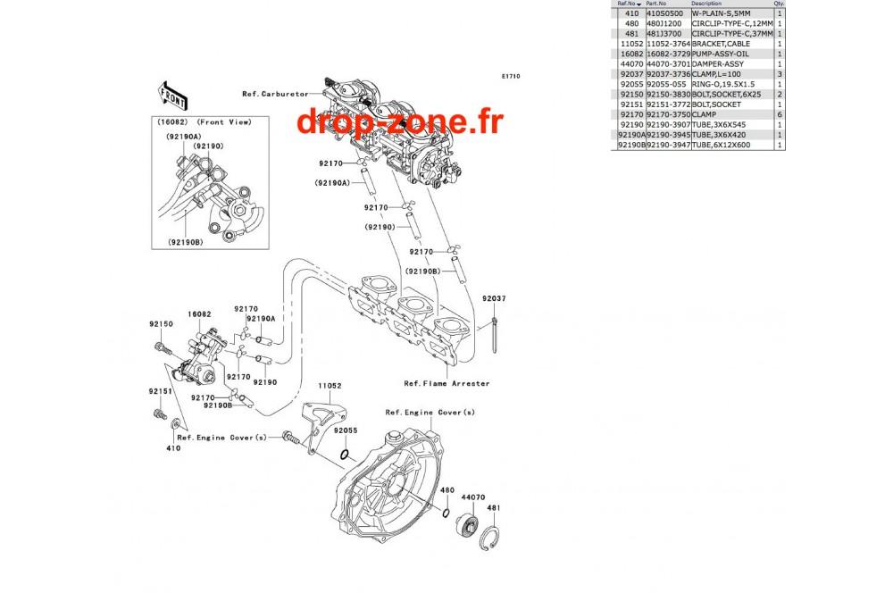 Pompe à huile STX 900 06 › DROP ZONE UNLIMITED