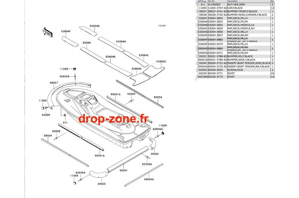 - Mousses STX 900 06 › DROP ZONE UNLIMITED