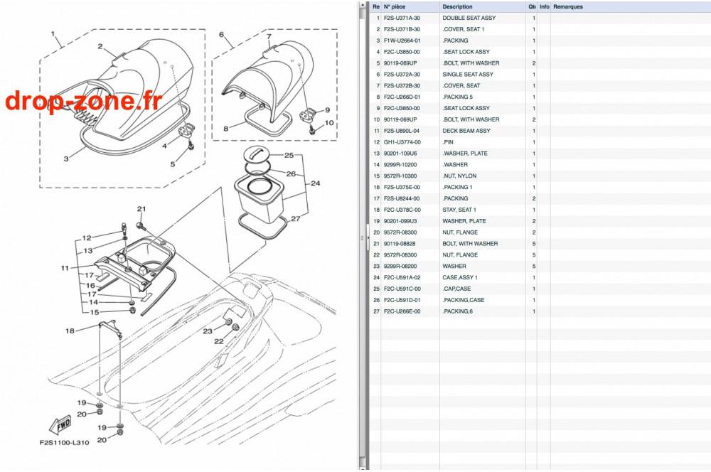 Selle FX SVHO CRUISER 15-17/ FX HO Cruiser 14-17/ FX SHO