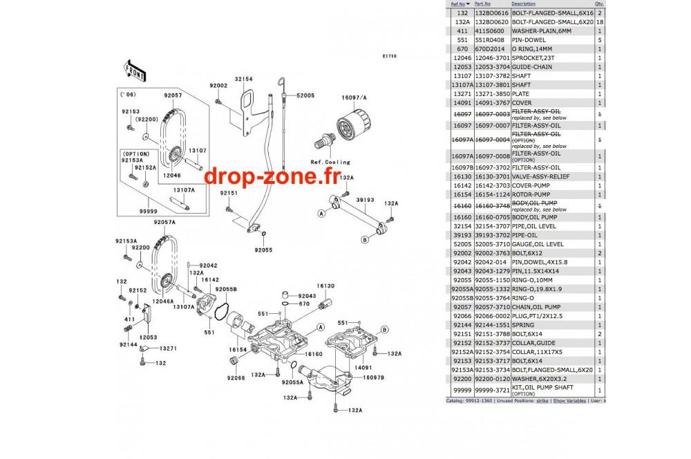Pompe à huile STX-15F 06 › DROP ZONE UNLIMITED