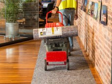 CleanandSafe provides leak-proof, absorbent floor protection for commercial job sites and construction projects.