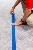 taping floor protection seams