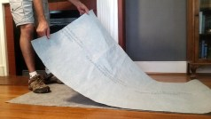 csp how to properly fold floor protection