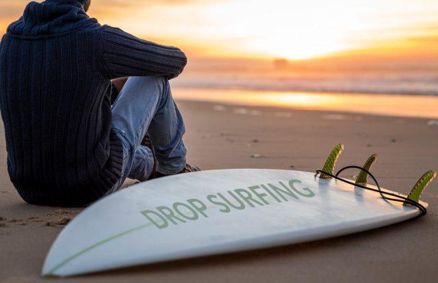 drop surfing