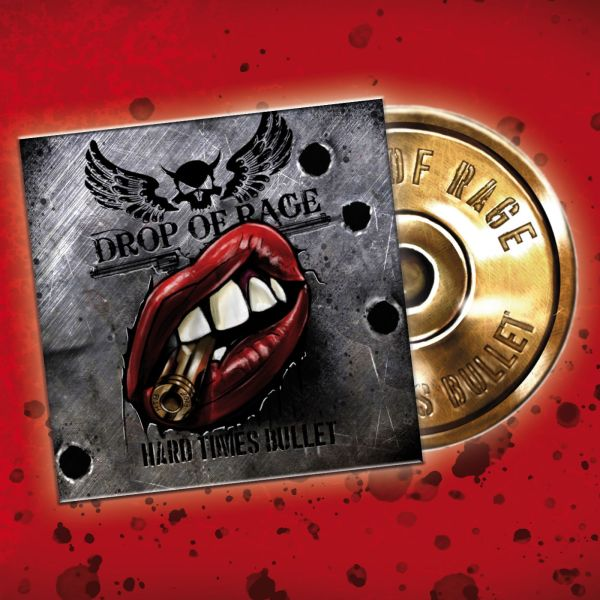DROP OF RAGE CD-Web Drop of rage - Hard Times Bullet (CD)