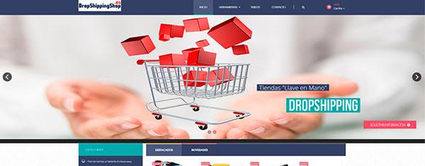 Tienda dropshipping con PrestaShop 1.6 responsive