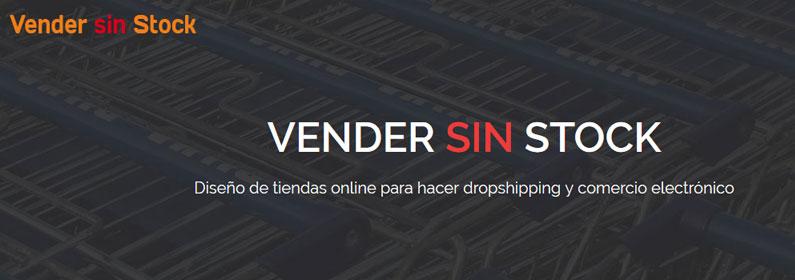 Vender sin Stock, landing page para captar clientes