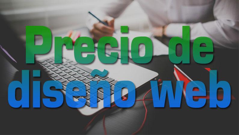 Precio de diseño web profesional, para páginas o tiendas online