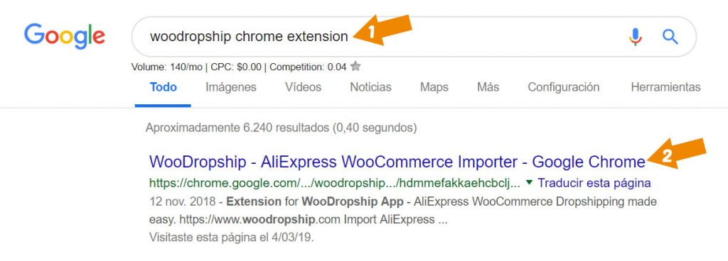 woodropship chrome extension
