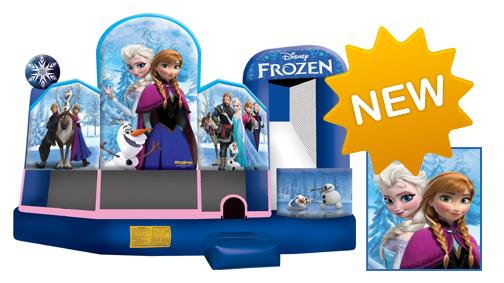 inflatable bouncer - Frozen 5 in 1 Disney bounce house Baldwin County AL