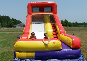 Inflatable Summer Splash side with pool