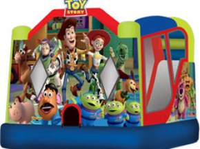 Toy Story 3 Bouncer with Inflatable Slide