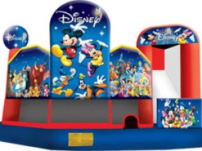 World of Disney 5-in-1 Combo - Bounce House
