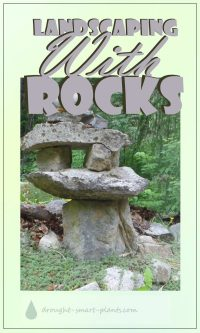 Landscaping with Rocks - from pebbles to boulders