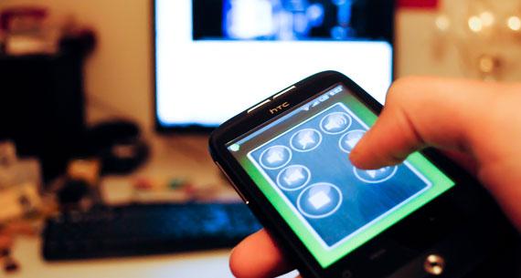 App para controlar PCs desde el Movil