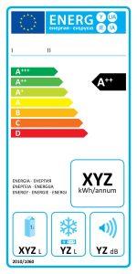 Etiqueta certificado energético