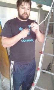 Pelado del cable coaxial