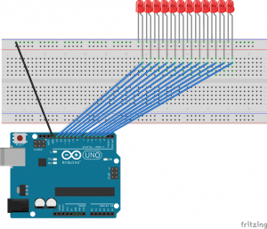 Bucle For Arduino