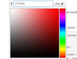 bootstrap color picker