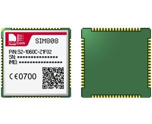 sim808 GPRS + GPS