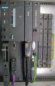 PLC de Siemens instalado