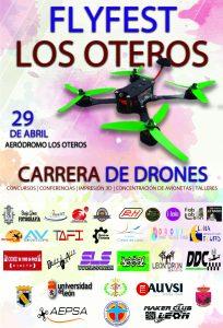 Carrera de Drones Oteros