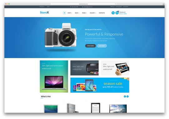 Electronica Ecommerce Freelance