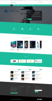 Freelance Ecommerce Template