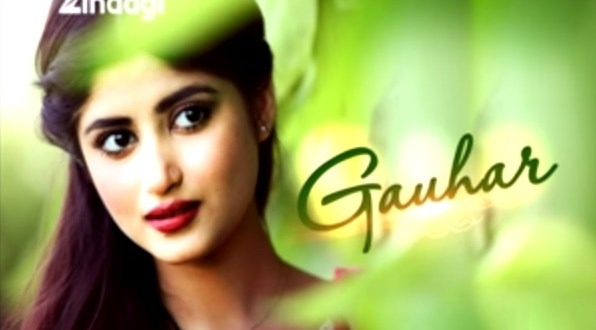 Gauhar   Pakistani serial   Pakistani Drama   star cast of Gauhar serial   Plot of Gauhar Serial   Timings of Gauhar Pakistani serial   images   Pics   Wallpapers   Zindagi TV