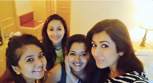 Ankita Bhargav Bachelor Party images