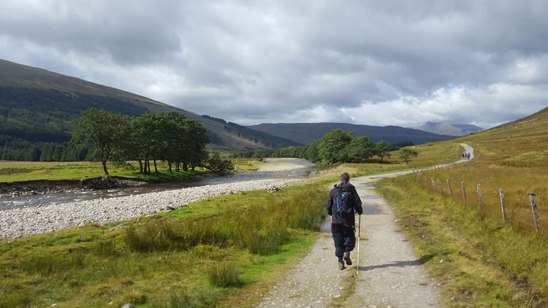West Highland Way Walking