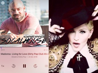 Special remix of Madonna Living For Love by DirtyPop