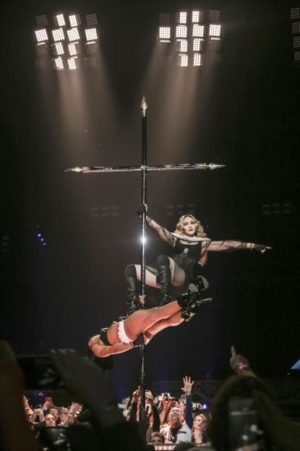 The 5 most Madonna moments of her Rebel Heart Tour.