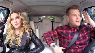 Madonna Carpool Karaoke to be aired this Wednesday