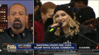 Sheriff David Clark says that Madonna should get a visit from FBI