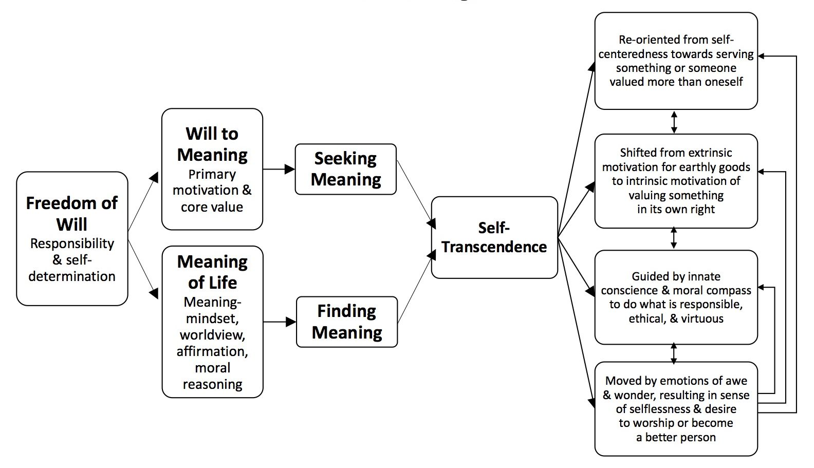 Frankl S Self Transcendence Model And Virtue Ethics
