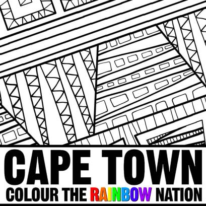 Cape Town: Colour the Rainbow Nation by Pearl R. Lewis