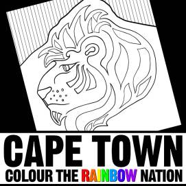Lion's Head - Cape Town: Colour the Rainbow Nation Coloring Book by Pearl R. Lewis