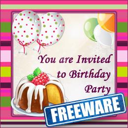 Birthday Party Invitation Card Maker